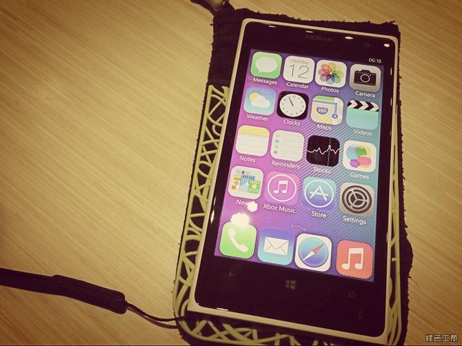 Lumia 裝 iOS 7