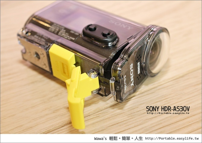 SONY HDR-AS30V Full HD 畫質動態錄影
