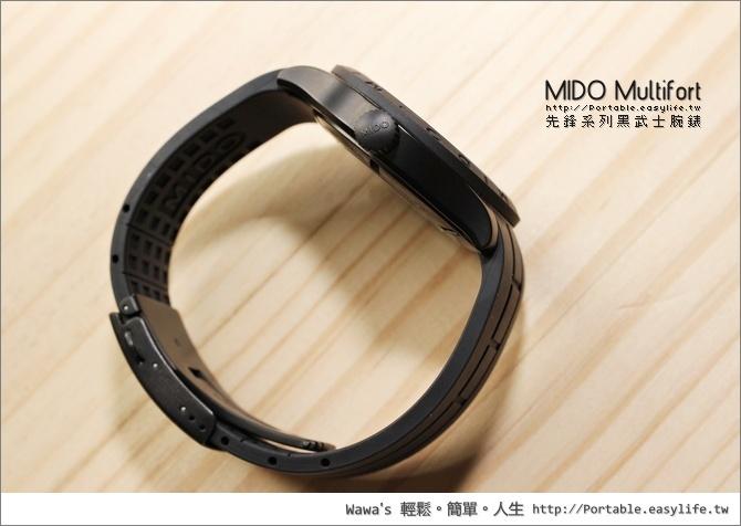 MIDO Multifort 先鋒系列黑武士腕錶