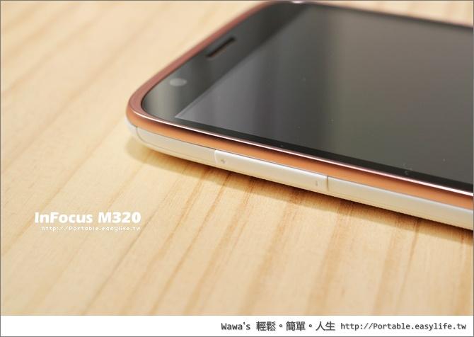 InFocus M320 真八核剛CP值智慧型手機