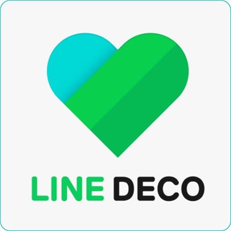 LINE DECO 讓手機圖示大變身