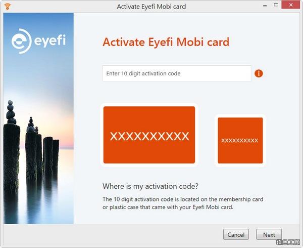 Eye-Fi mobi 無線記憶卡 Class10