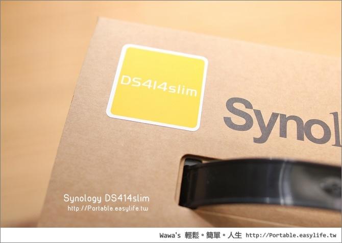 Synology DS413slim 迷你版NAS伺服器