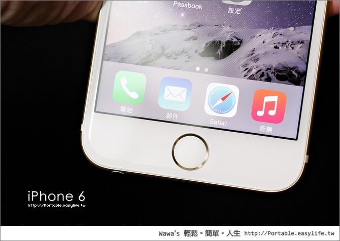 iPhone 6 金色開箱 64GB
