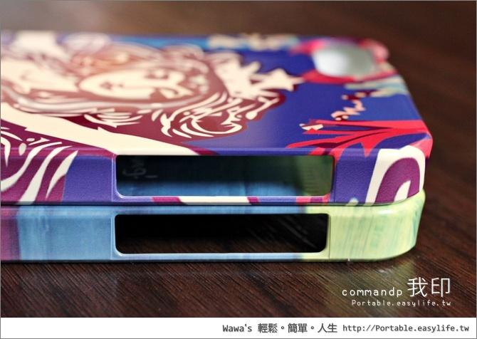 DIY印製手機殼。commandp我印