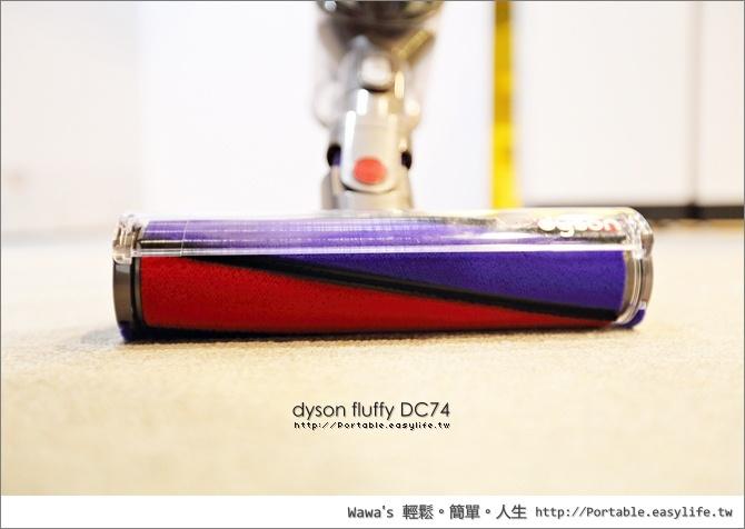 dyson fluffy DC74 數位馬達無線手持式吸塵器