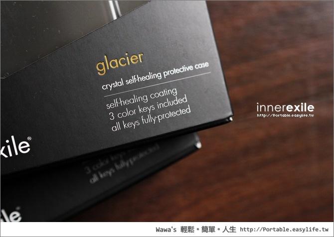 innerexile Glacier 自我修復透明保護殼