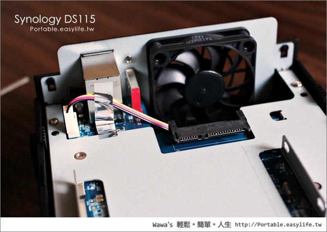 Synology DS115 單顆硬碟機種NAS