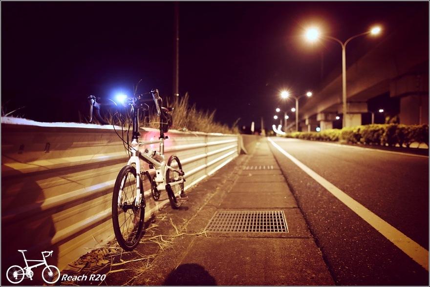 REACH R20 台南高鐵夜騎