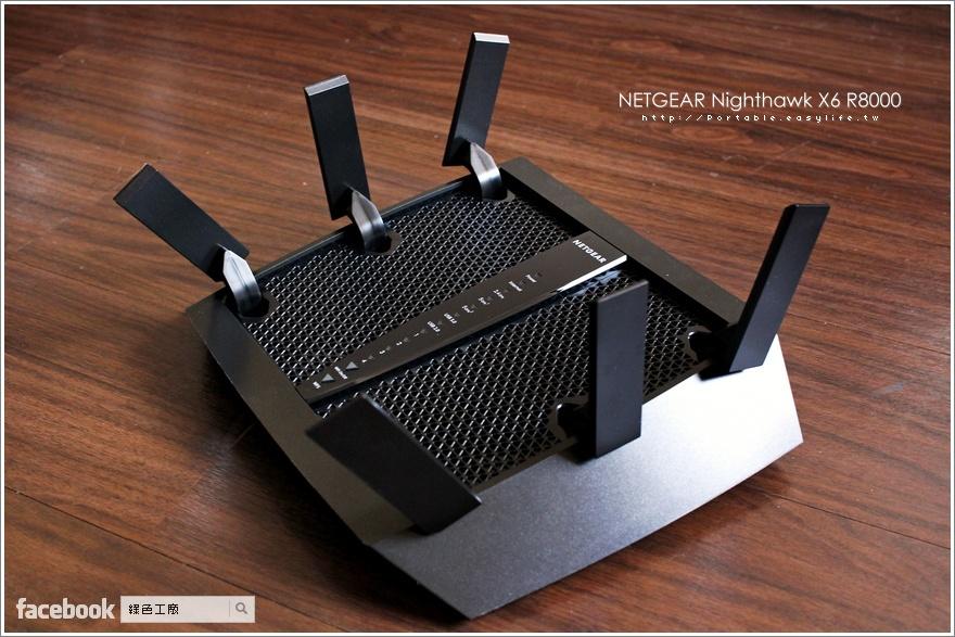 Netgear Nighthawk 夜鷹 X6 R8000