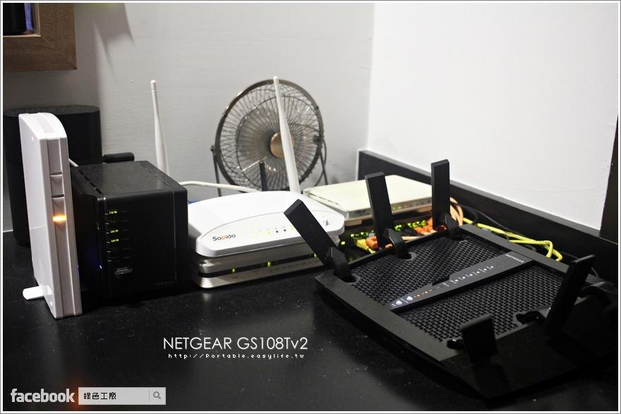 NETGEAR GS108Tv2 802.3ad Link Aggregation