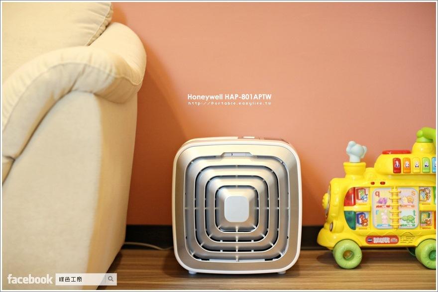 美國 Honeywell 智慧型 抗敏空氣清淨機 HAP-801APTW