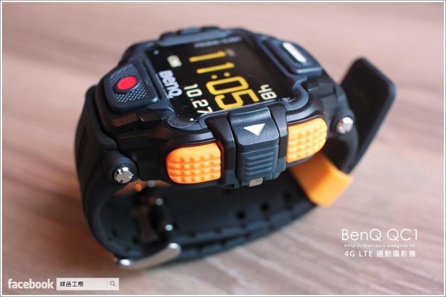 BenQ QC1 4G LTE 運動型攝影機 YouTube、Facebook 直播