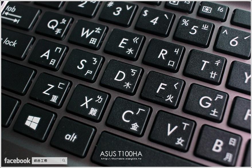 ASUS T100HA Windows 10 變形筆電開箱評測