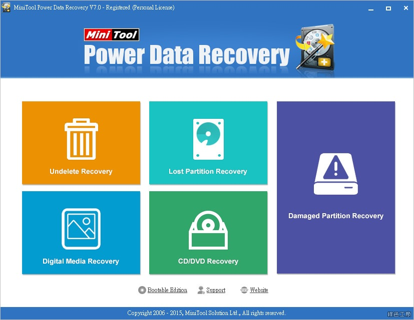 MiniTool Power Data Recovery 序號 Licnese