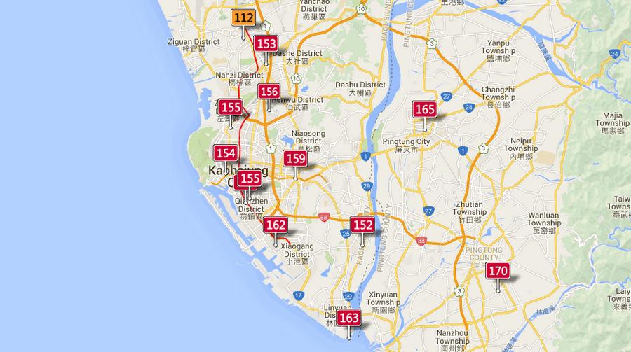 PM2.5 空氣品質查詢,全台空氣品質查詢
