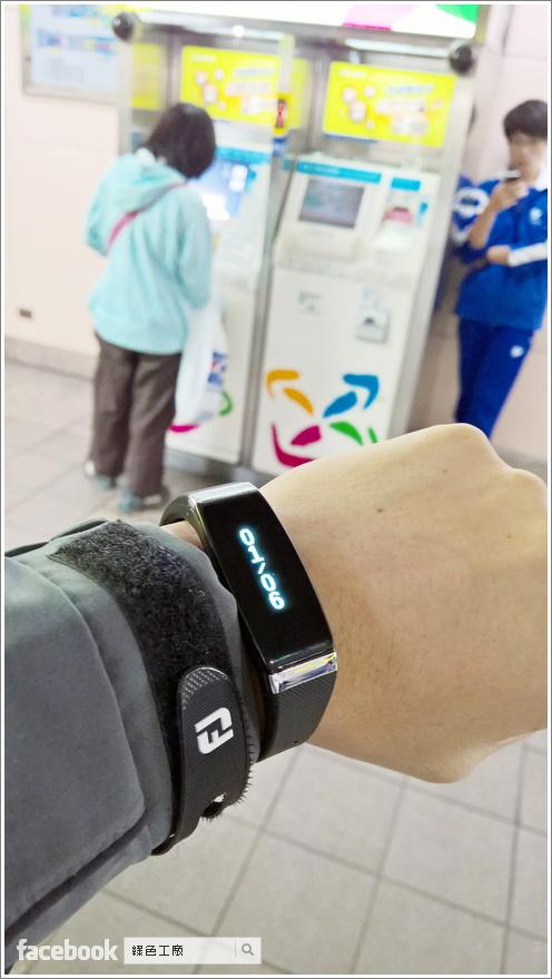 GOLiFE Care-X 智慧型手環+悠遊卡
