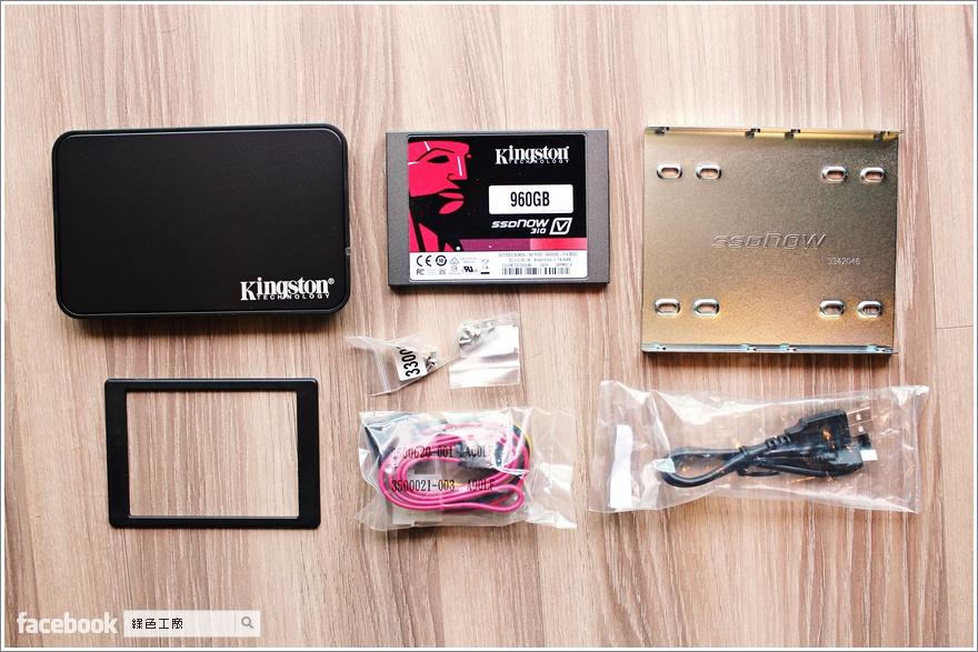 SSD 工具介紹 KINGSTON 金士頓 960GB SSDNow V310 固態硬碟