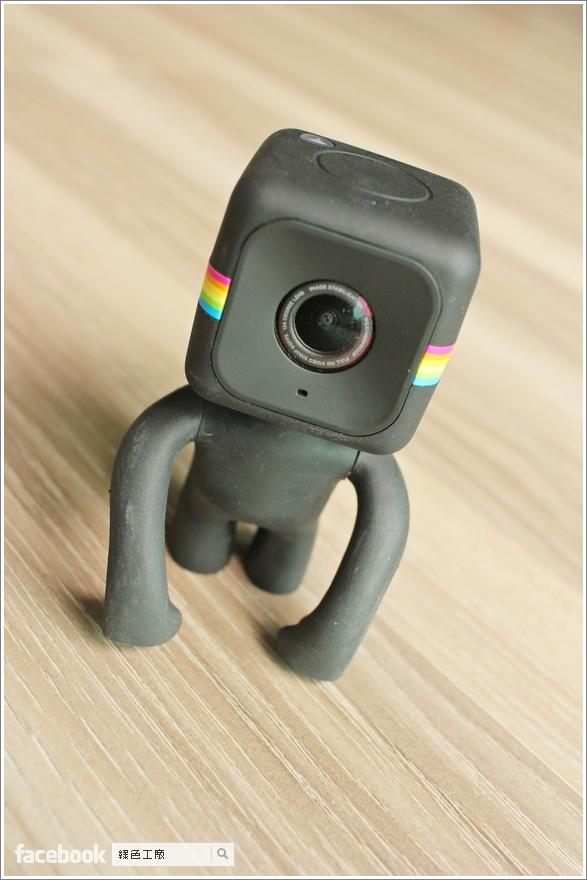 開箱評測 Polaroid 寶麗萊 CUBE+ 迷你運動攝影機
