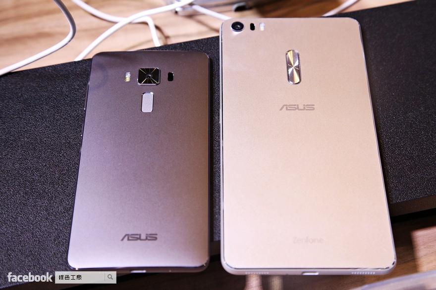 Zenfone 3、Zenfone 3 Deluxe、Zenfone 3 Ultra