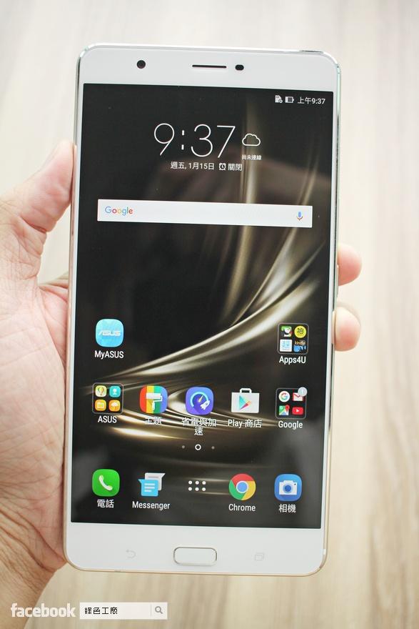 ASUS ZenFone 3 Ultra 開箱評測