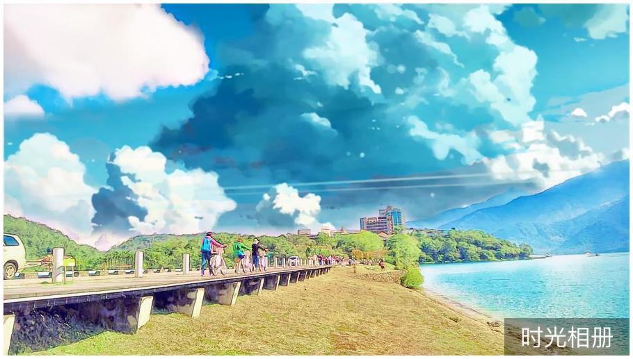 新海誠風『你的名字』電影風格濾鏡線上製作,來張超級有感覺的照片吧!(iOS、Android)