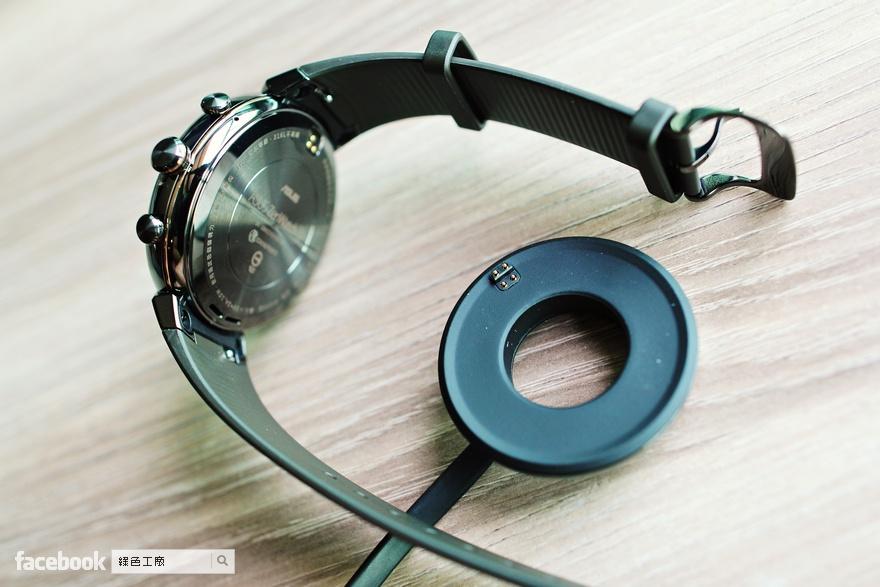 ASUS ZenWatch 3 智慧錶 煙燻黑 開箱評測