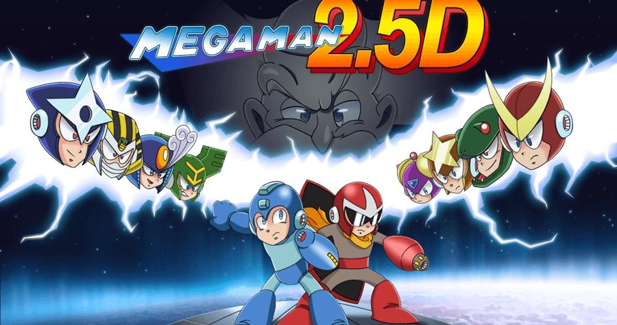 洛克人 2.5D 遊戲下載,MegaMan 2.5D Download