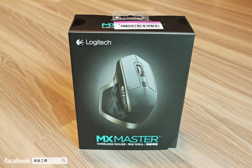 羅技MX Master 無線滑鼠 Logitech