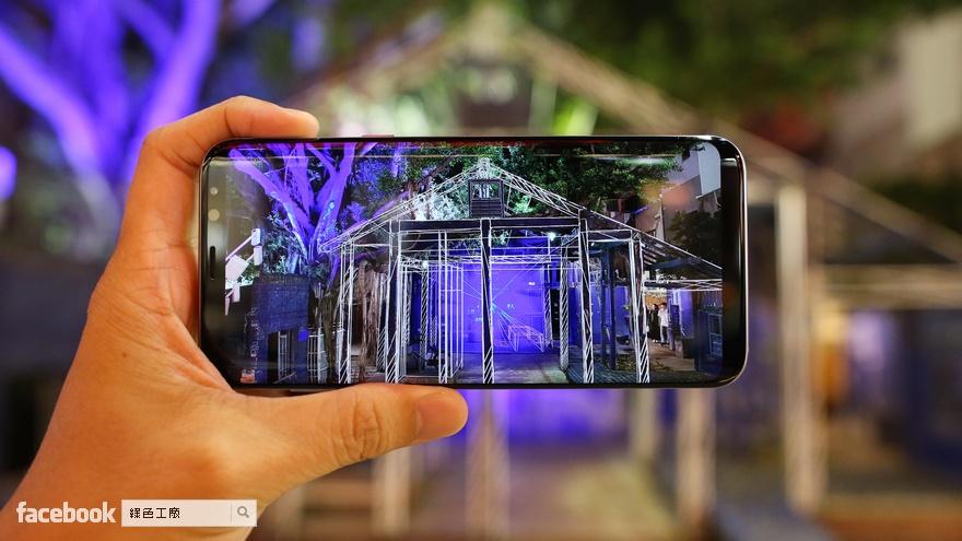 Samsung Galaxy S8+ 相機實拍評測,動畫拍攝好好玩,夜拍能力好強大
