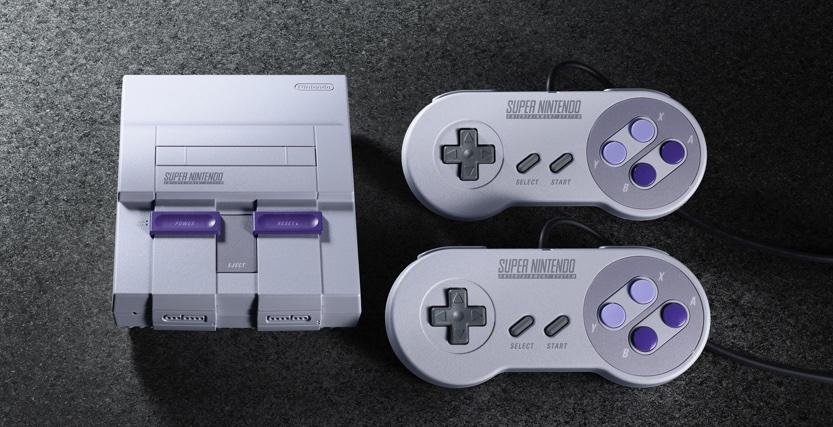 超級任天堂 Super NES Classic Edition 復刻迷你版