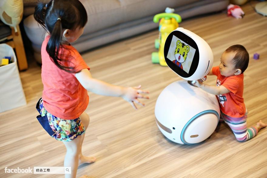ASUS Zenbo 機器人,開箱心得分享