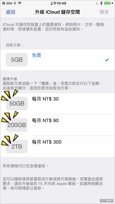 iCloud 降價囉!
