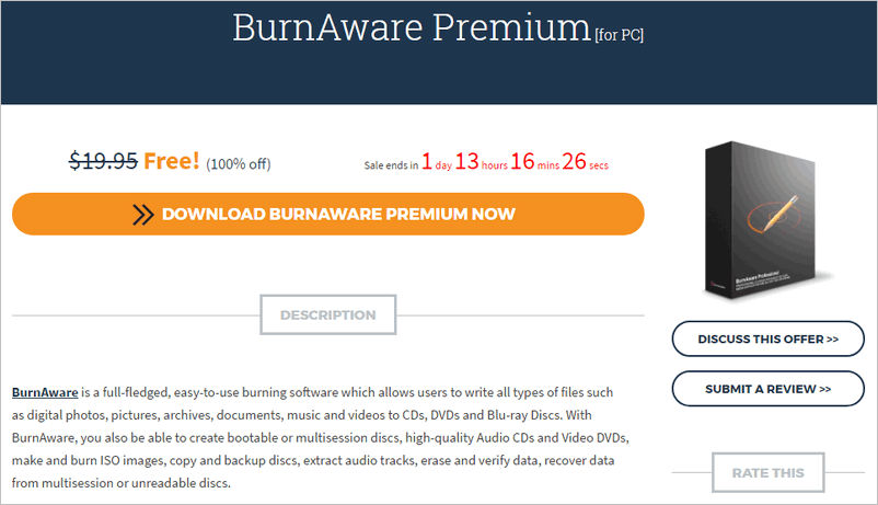 BurnAware Premium License