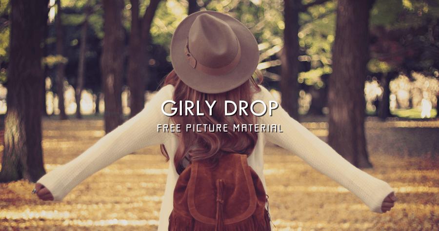 GIRLY DROP 女孩們的圖片素材
