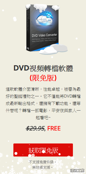 WonderFox DVD Video Converter 限時免費、序號