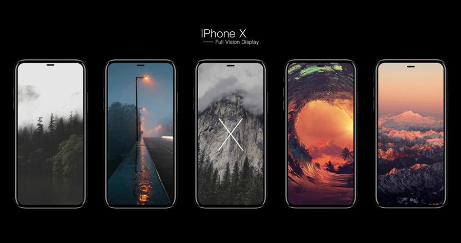 iPhone 8、iPhone 8 Plus、iPhone X