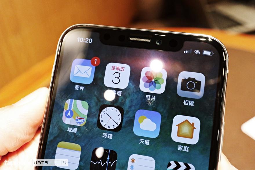 iPhone X 螢幕故障