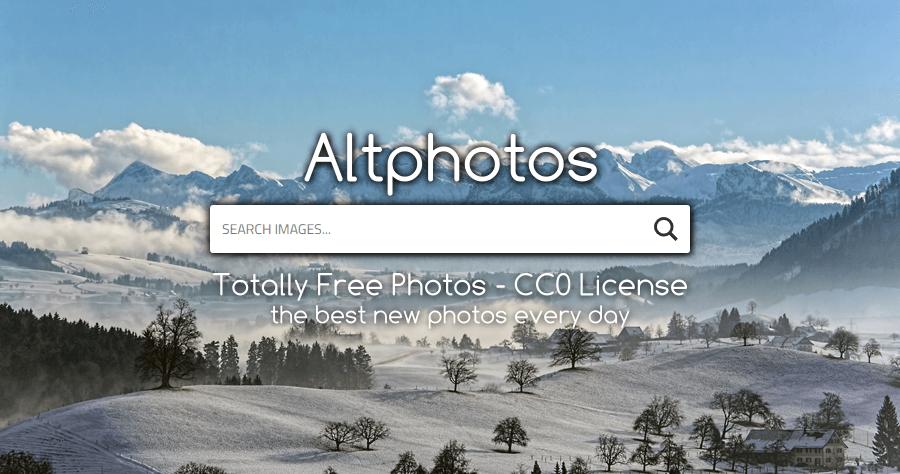 Altphotos 免費圖片素材網