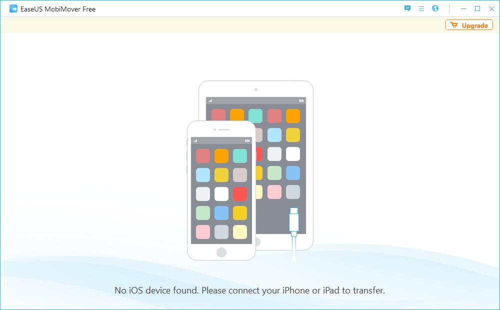 EaseUS MobiMover iOS 檔案傳輸備份工具