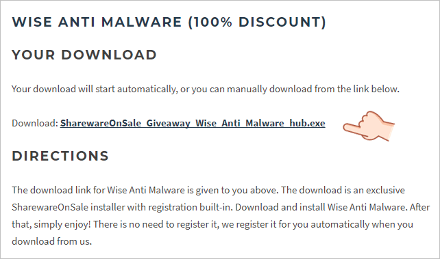 Wise Anti Malware 序號 License