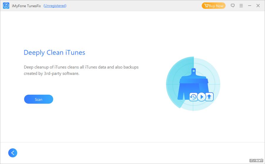 iMyFone TunesFix iTunes 修復錯誤與清理工具