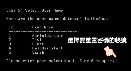 4WinKey Standard Full 重置 Windows 密碼