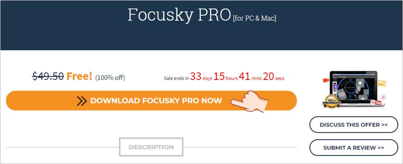 Focusky PRO 專業及簡報工具限時免費
