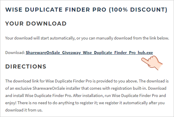 Wise Duplicate Finder Pro 限時免費序號 License
