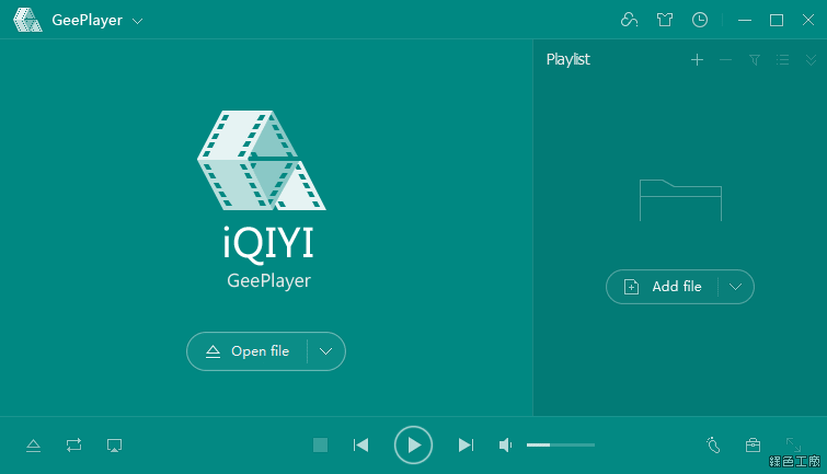 GeePlayer 愛奇藝萬能播放器 IQIYI Video Player
