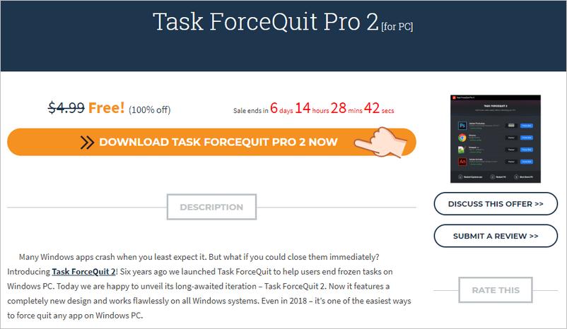 Task ForceQuit Pro 強制停止應用程式