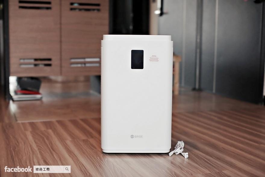 BRISE C600 空氣清淨機開箱評測,重點功能分析
