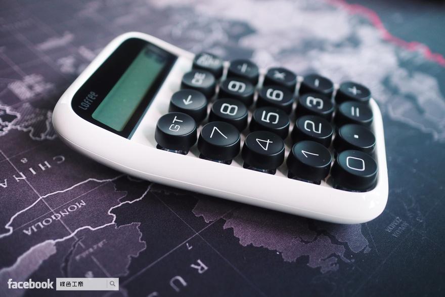LOFREE 洛斐糖豆機械式鍵盤計算機