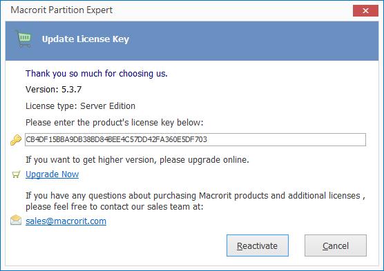 Macrorit Partition Expert Server Edition
